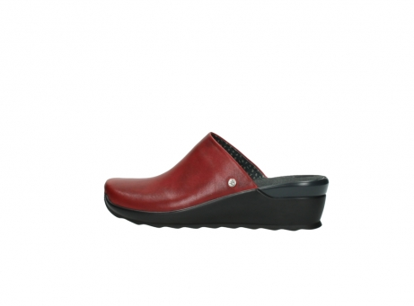 wolky slippers 2575 go 250 rood leer_2