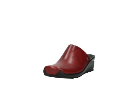 wolky slippers 2575 go 250 rood leer_21