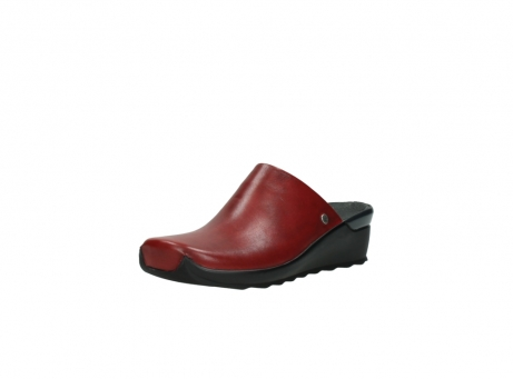wolky slippers 2575 go 250 rood leer_22