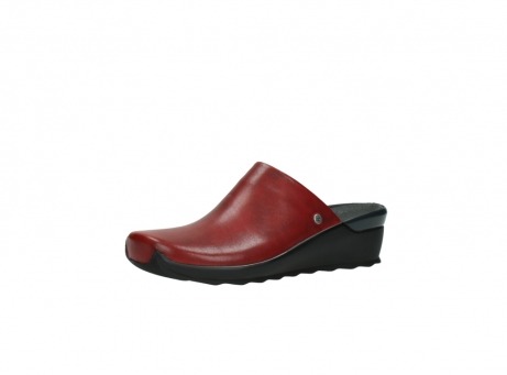 wolky slippers 2575 go 250 rood leer_23
