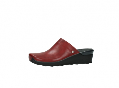 wolky slippers 2575 go 250 rood leer_24