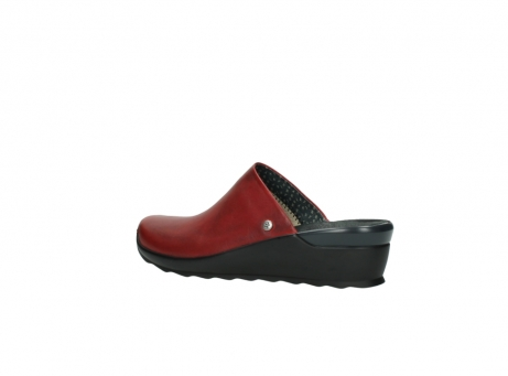 wolky slippers 2575 go 250 rood leer_3