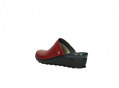 wolky slippers 2575 go 250 rood leer_4