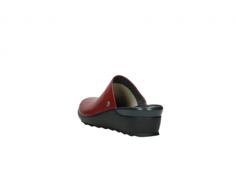 wolky slippers 2575 go 250 rood leer_5