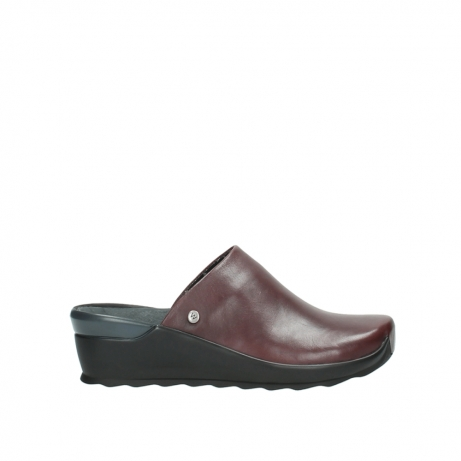wolky slippers 2575 go 251 bordeaux leer