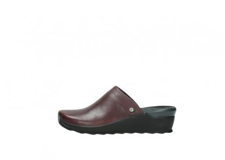 wolky slippers 2575 go 251 bordeaux leer_1