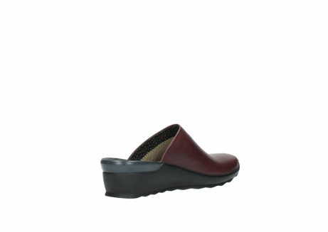 wolky slippers 2575 go 251 bordeaux leer_10
