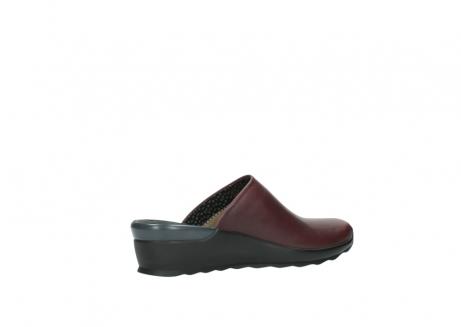 wolky slippers 2575 go 251 bordeaux leer_11