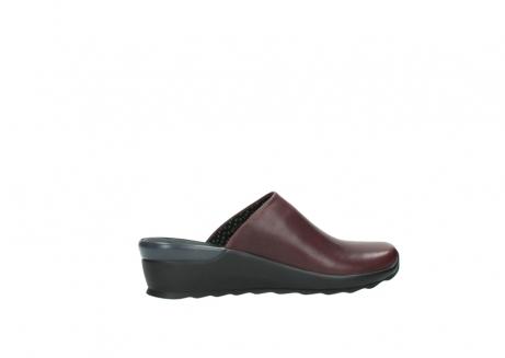 wolky slippers 2575 go 251 bordeaux leer_12