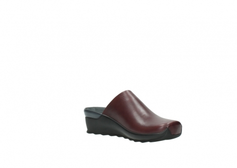 wolky slippers 2575 go 251 bordeaux leer_16