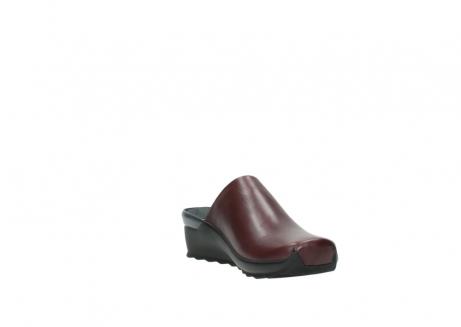 wolky slippers 2575 go 251 bordeaux leer_17
