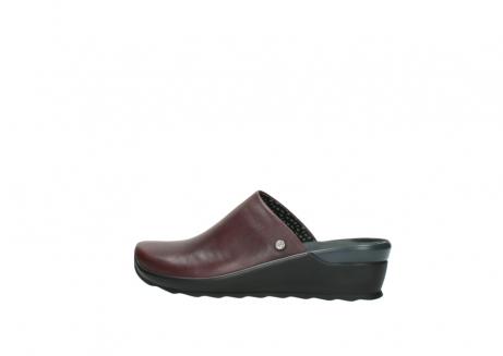 wolky slippers 2575 go 251 bordeaux leer_2