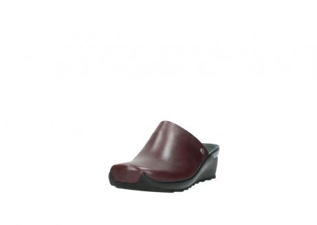 wolky slippers 2575 go 251 bordeaux leer_21