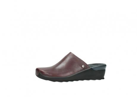 wolky slippers 2575 go 251 bordeaux leer_24