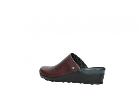 wolky slippers 2575 go 251 bordeaux leer_3
