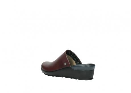 wolky slippers 2575 go 251 bordeaux leer_4