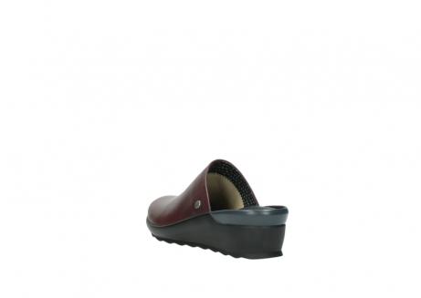 wolky slippers 2575 go 251 bordeaux leer_5