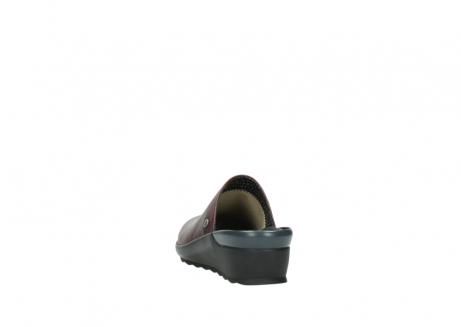 wolky slippers 2575 go 251 bordeaux leer_6