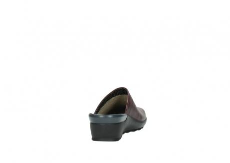 wolky slippers 2575 go 251 bordeaux leer_8