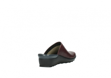 wolky slippers 2575 go 251 bordeaux leer_9