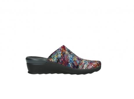 wolky slippers 2575 go 497 multi zwart metallic leer_13
