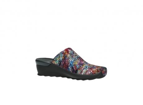 wolky slippers 2575 go 497 multi zwart metallic leer_15
