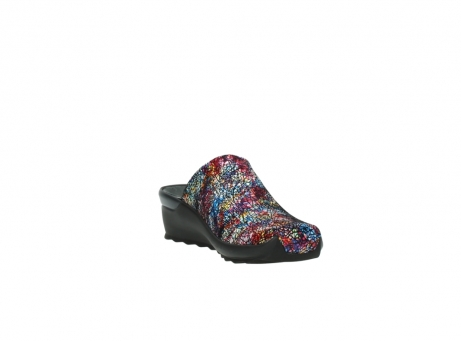 wolky slippers 2575 go 497 multi zwart metallic leer_17