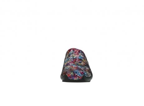 wolky slippers 2575 go 497 multi zwart metallic leer_19