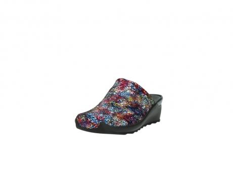 wolky slippers 2575 go 497 multi zwart metallic leer_21