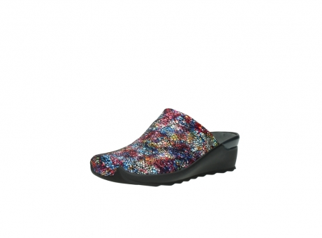 wolky slippers 2575 go 497 multi zwart metallic leer_22