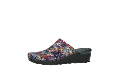 wolky slippers 2575 go 497 multi zwart metallic leer_24