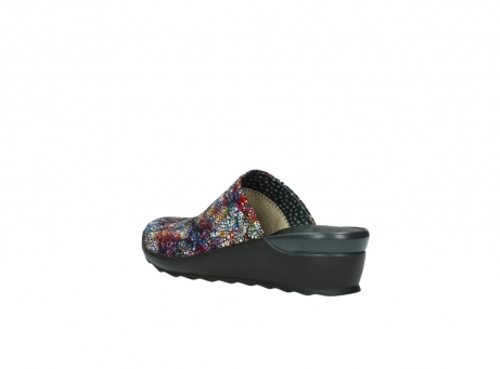 wolky slippers 2575 go 497 multi zwart metallic leer_4