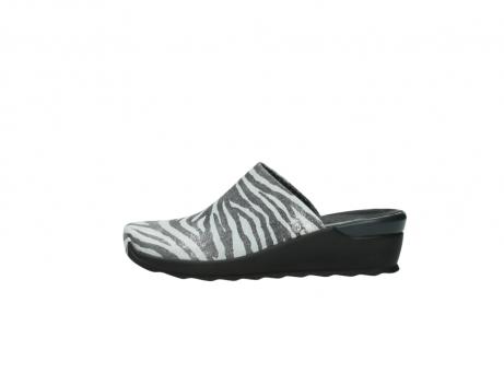 wolky pantoletten 2575 go 912 zebra print metallic leder_1