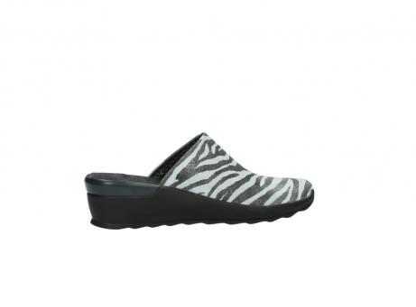 wolky pantoletten 2575 go 912 zebra print metallic leder_12