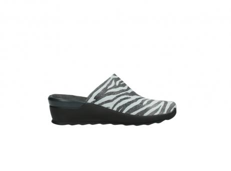 wolky pantoletten 2575 go 912 zebra print metallic leder_13