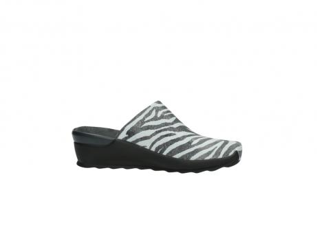 wolky pantoletten 2575 go 912 zebra print metallic leder_14