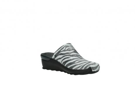 wolky pantoletten 2575 go 912 zebra print metallic leder_16