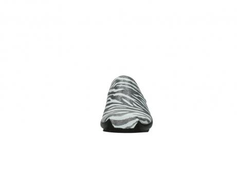 wolky pantoletten 2575 go 912 zebra print metallic leder_19