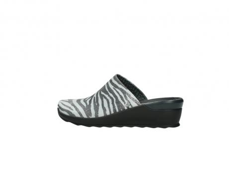 wolky pantoletten 2575 go 912 zebra print metallic leder_2