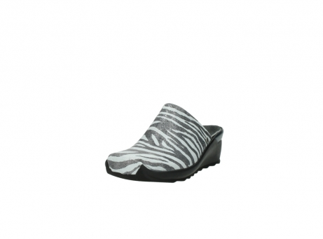 wolky pantoletten 2575 go 912 zebra print metallic leder_21