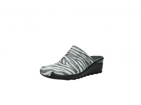 wolky pantoletten 2575 go 912 zebra print metallic leder_22
