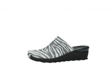 wolky pantoletten 2575 go 912 zebra print metallic leder_24
