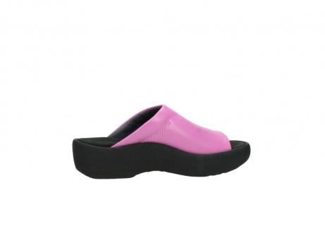 wolky slippers 3201 nassau 361 fuchsia roze leer_12