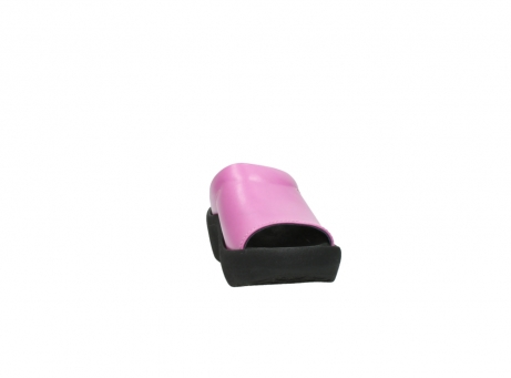 wolky slippers 3201 nassau 361 fuchsia roze leer_18