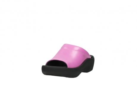 wolky slippers 3201 nassau 361 fuchsia roze leer_21