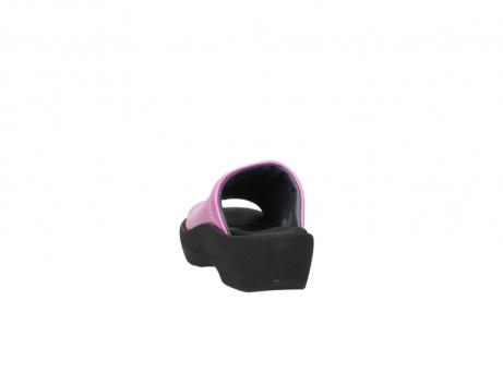 wolky slippers 3201 nassau 361 fuchsia roze leer_6