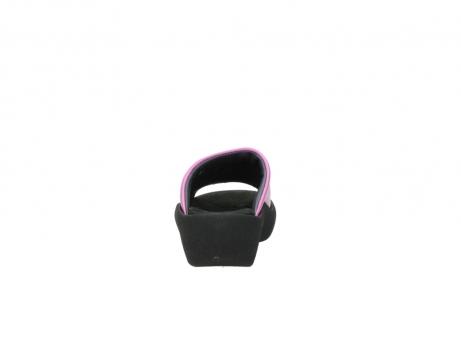 wolky slippers 3201 nassau 361 fuchsia roze leer_7