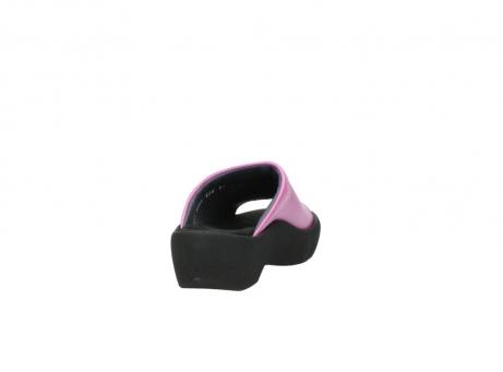 wolky slippers 3201 nassau 361 fuchsia roze leer_8