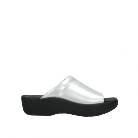 wolky slippers 3201 nassau 620 grijs lakleer