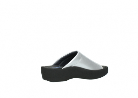 wolky slippers 3201 nassau 620 grijs lakleer_11